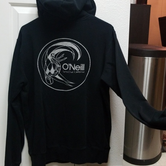 cheap for discount 53921 9444c O'Neill black hoodie pullover sweatshirt Size M